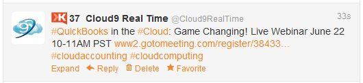 Cloud9 Quickbooks Hosting Webinar